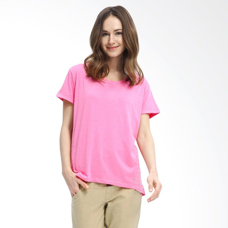 Mamaway Chiffon Panels 2 Piece Pink Baju Hamil dan Menyusui