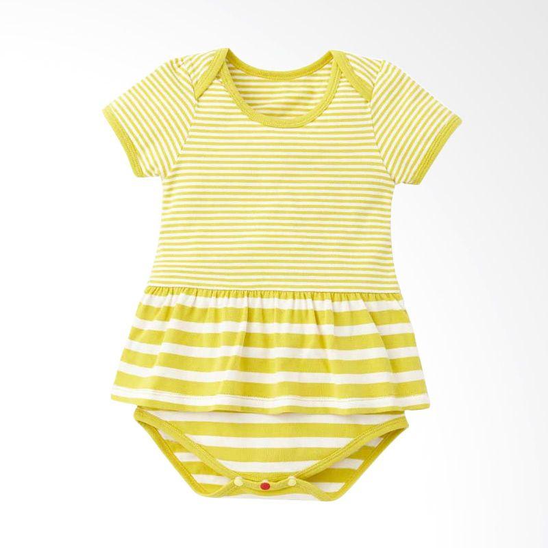 Mamaway Cutesy Yellow Jumpsuit Bayi