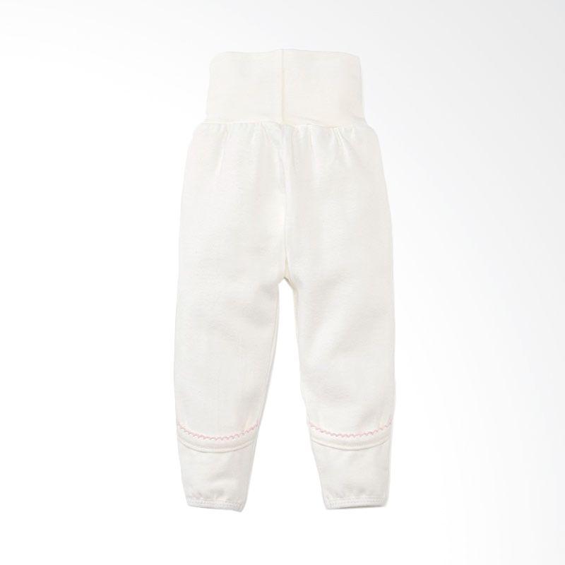Mamaway Newborn High Waist Cotton Pants Pink