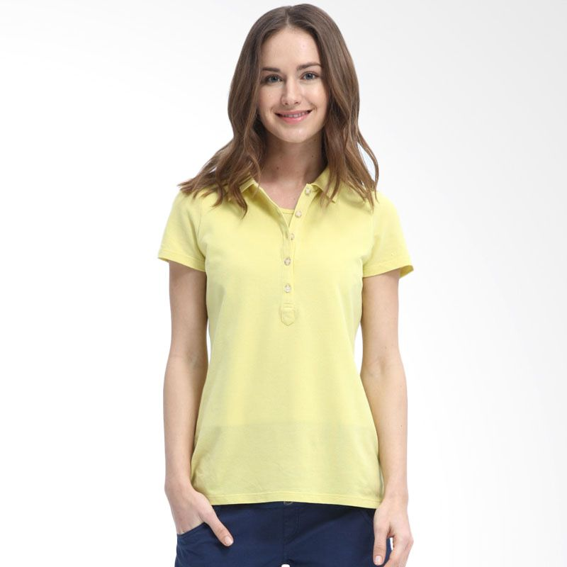 Mamaway Solid Polo Yellow Baju Hamil & Menyusui