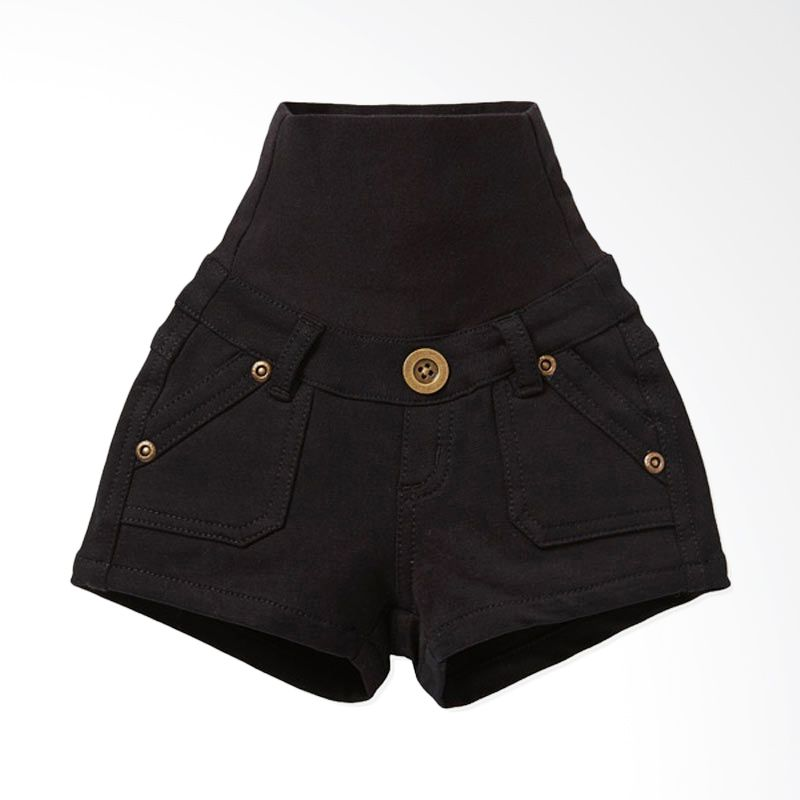 Mamaway Super Soft Baby Pants Black