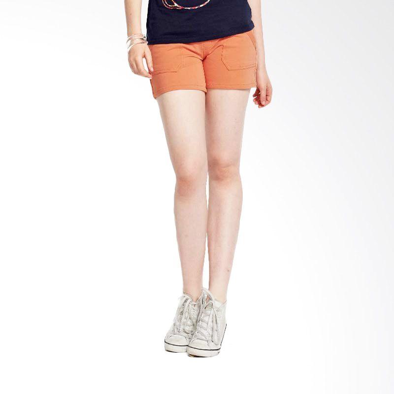 Mamaway Super Soft Knit Maternity Short Orange