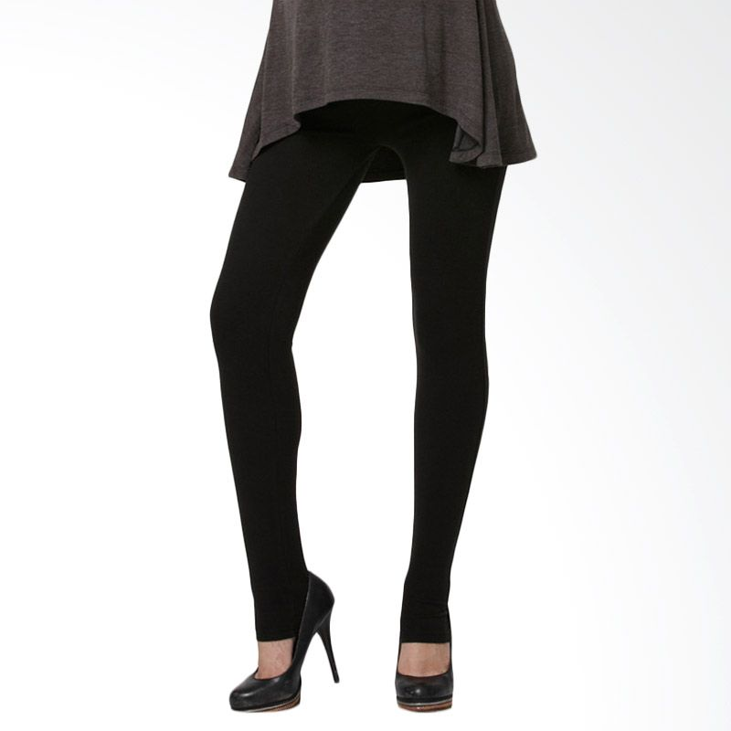 Mamaway Super Stretch Full Length Black Legging Celana Hamil