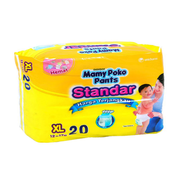 Mamy Poko Popok Pants Standar [Size XL/Isi 20]