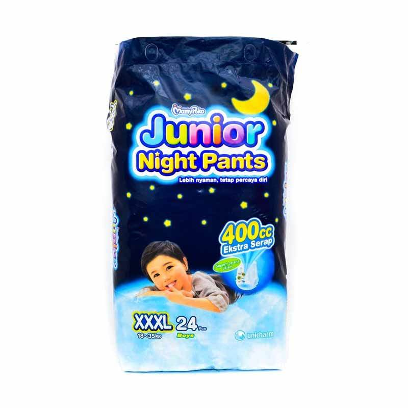 harga Groceries - MamyPoko Junior Night Pants Boy XXXL-24 Blibli.com