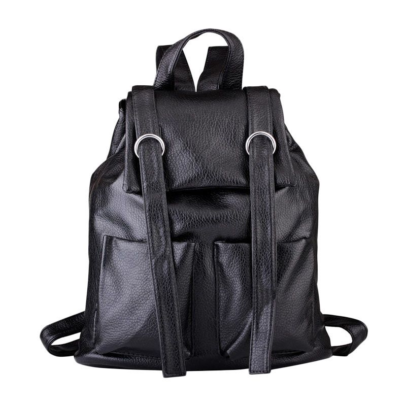 Mangoesteen 227 Fashion Hitam Backpack