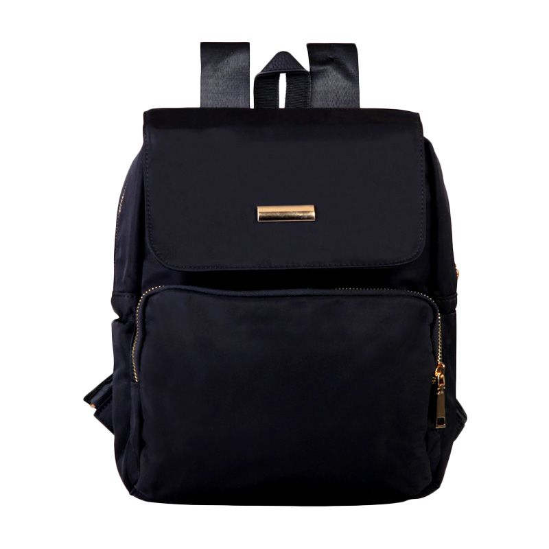 Mangoesteen Fashion 5806 Hitam Backpack