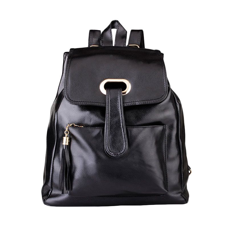 Mangoesteen Fashion 614 Hitam Backpack
