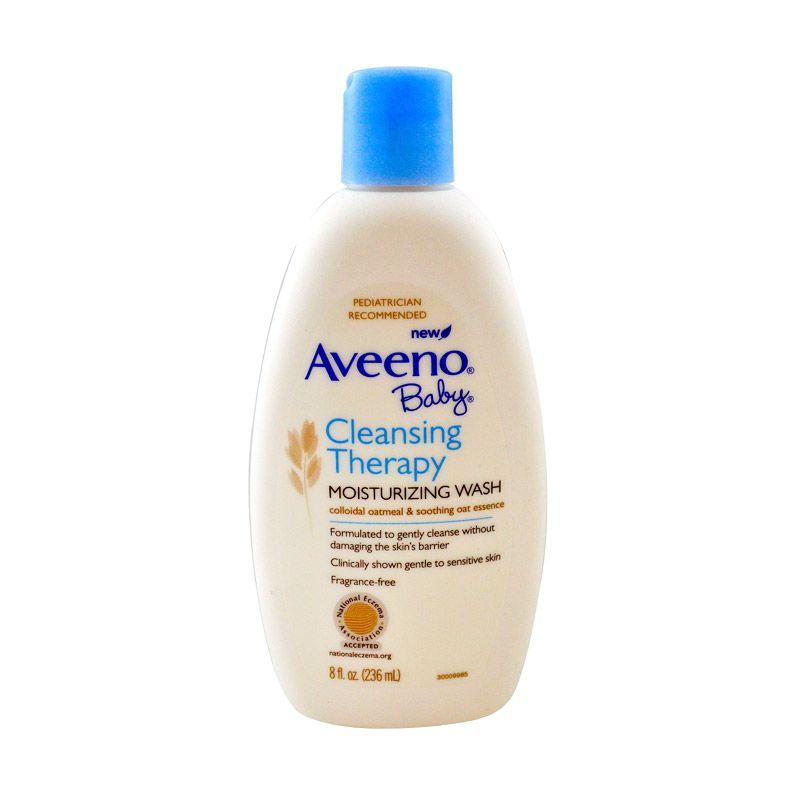 Aveeno Cleansing Therapy Moisturizing Sabun Bayi [236 ml]