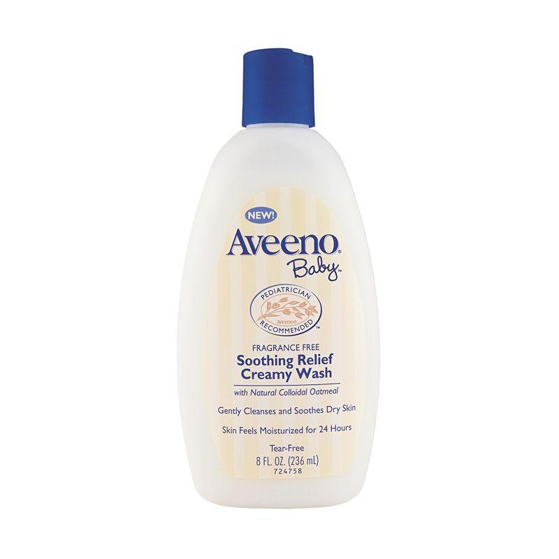 Aveeno Soothing Relief Creamy Sabun Bayi [236 ml]