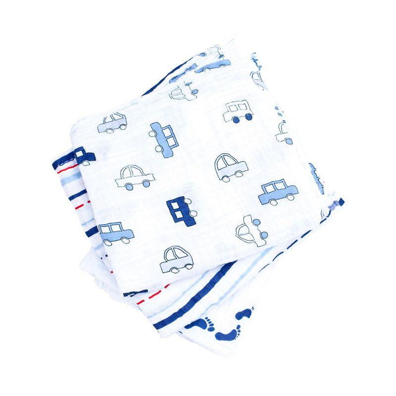 Bubble Wrap Baby Boy Blue Selimut Bayi [120 Cm/3 pcs]