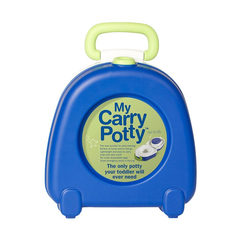 Carry Potty Blue Toilet Training