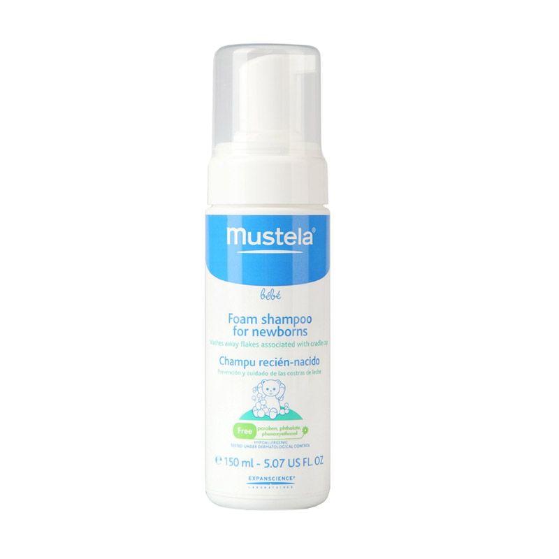 Mustela Bebe Foam Shampoo Bayi