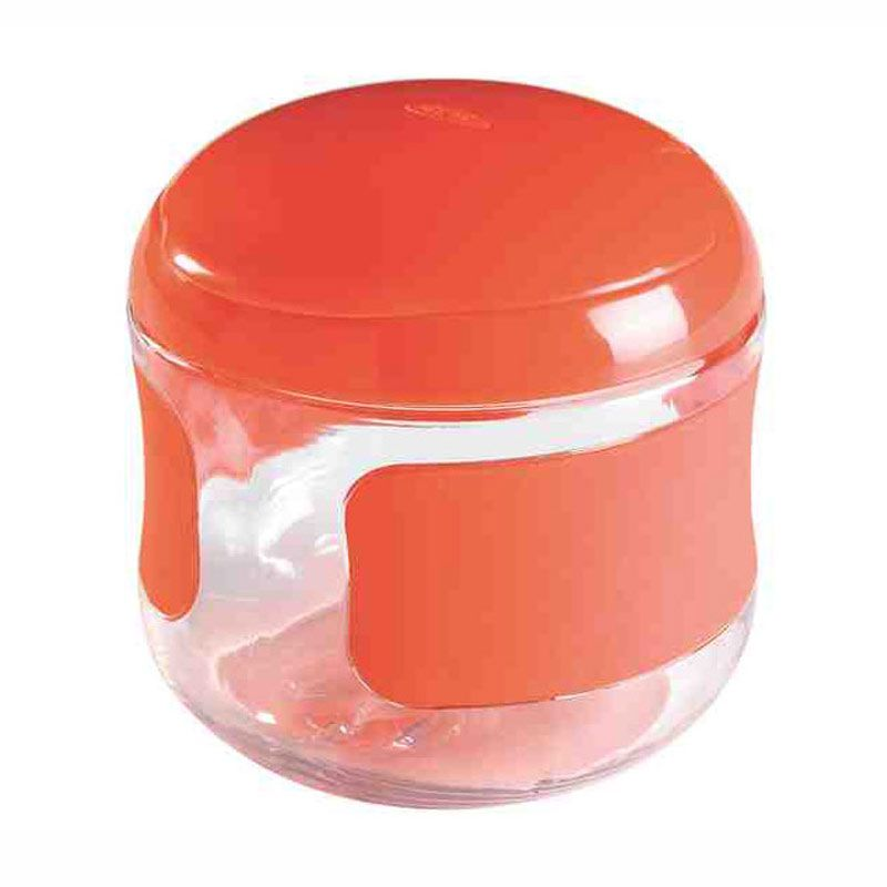 Oxo Tot Flip Top Snack Cup Orange
