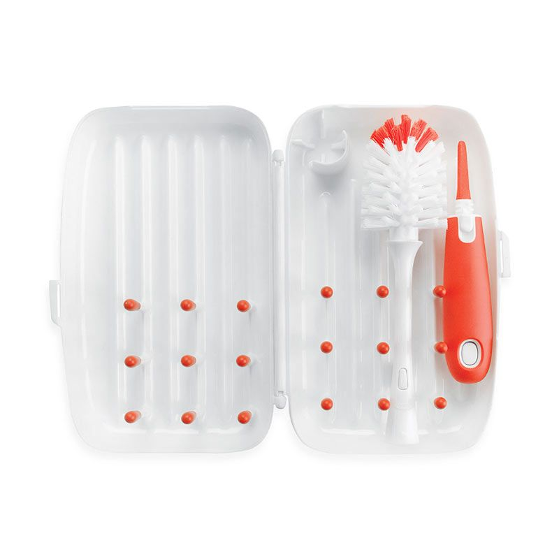 Oxo Tot On the Go Drying Rack Orange