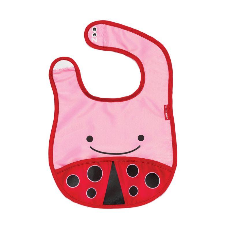 Skip Hop Bib Ladybug Celemek Bayi