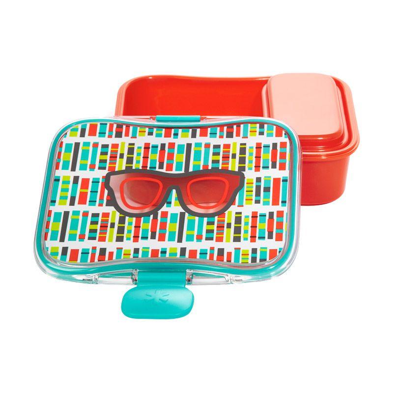 Skip Hop Forget Me Lunch Kit Spaces Orange Kotak Makan