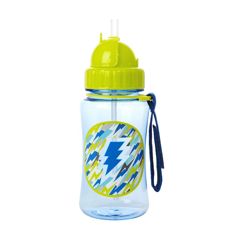 Skip Hop Forget Me Not Strawbottle Lightning Blue Botol Minum