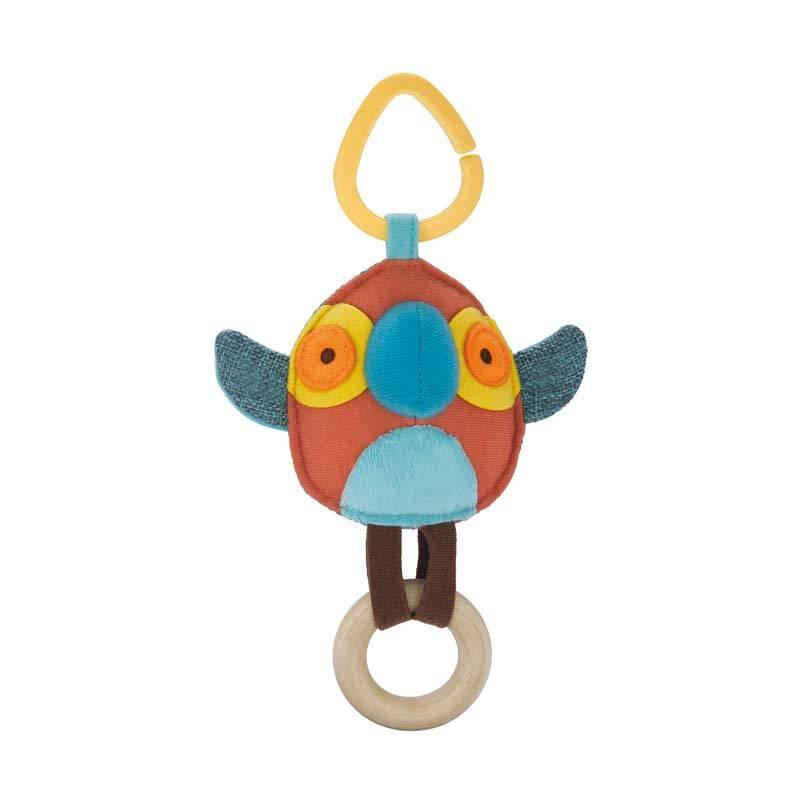 Skip Hop Giraffe Safari Stroller Toy Parrot