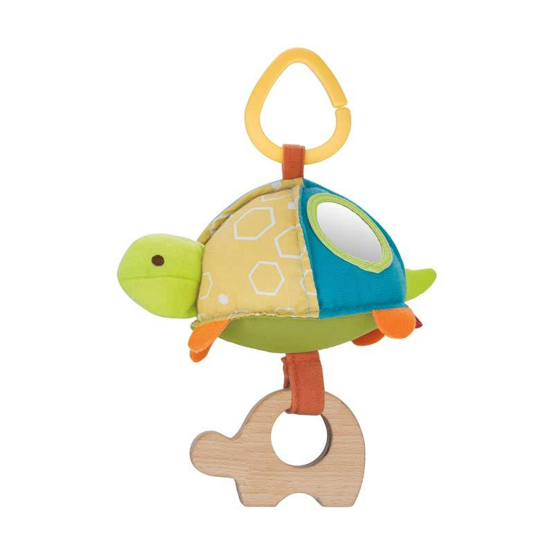 Skip Hop Giraffe Safari Stroller Toy Turtle