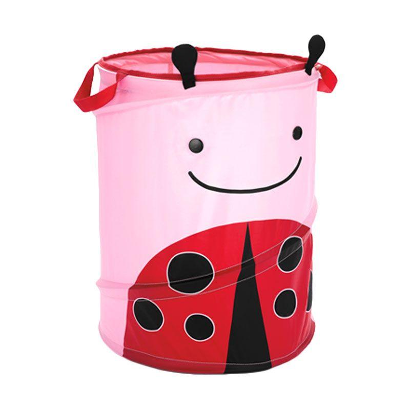 Skip Hop Hamper Ladybug Pink