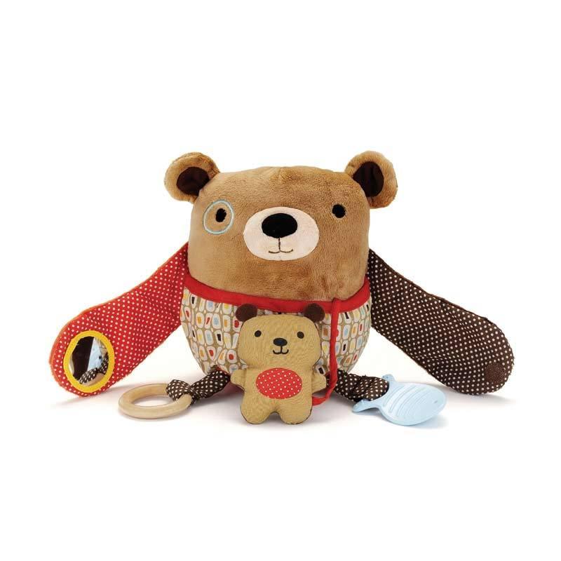 Skip Hop Hug Hide Activity Toy Bear