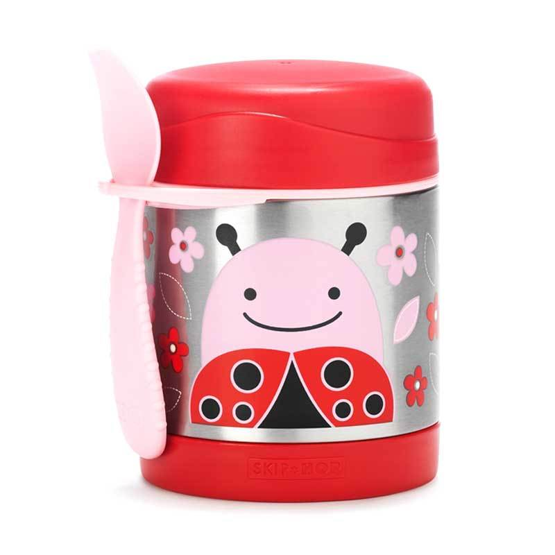 Skip Hop Insulated Food Jar Lady Bug
