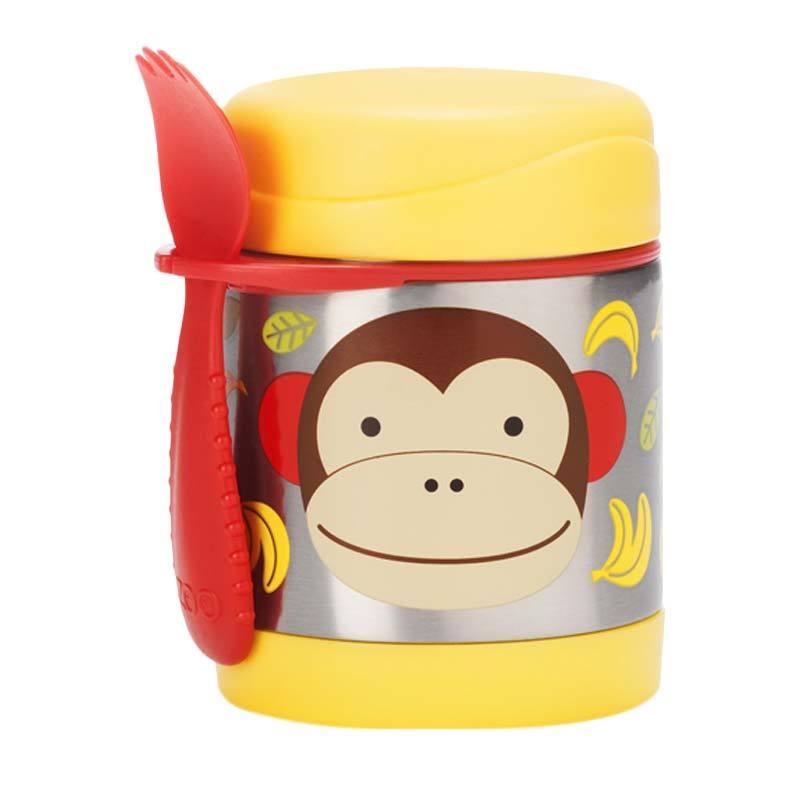 Skip Hop Insulated Food Jar Monkey