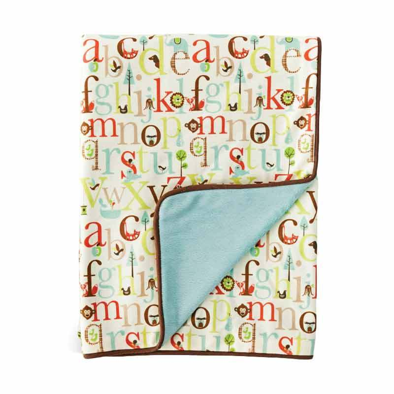 Skip Hop Nursery Blanket Alphabet