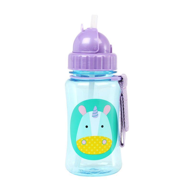 Skip Hop Straw Unicorn Botol Minum Anak