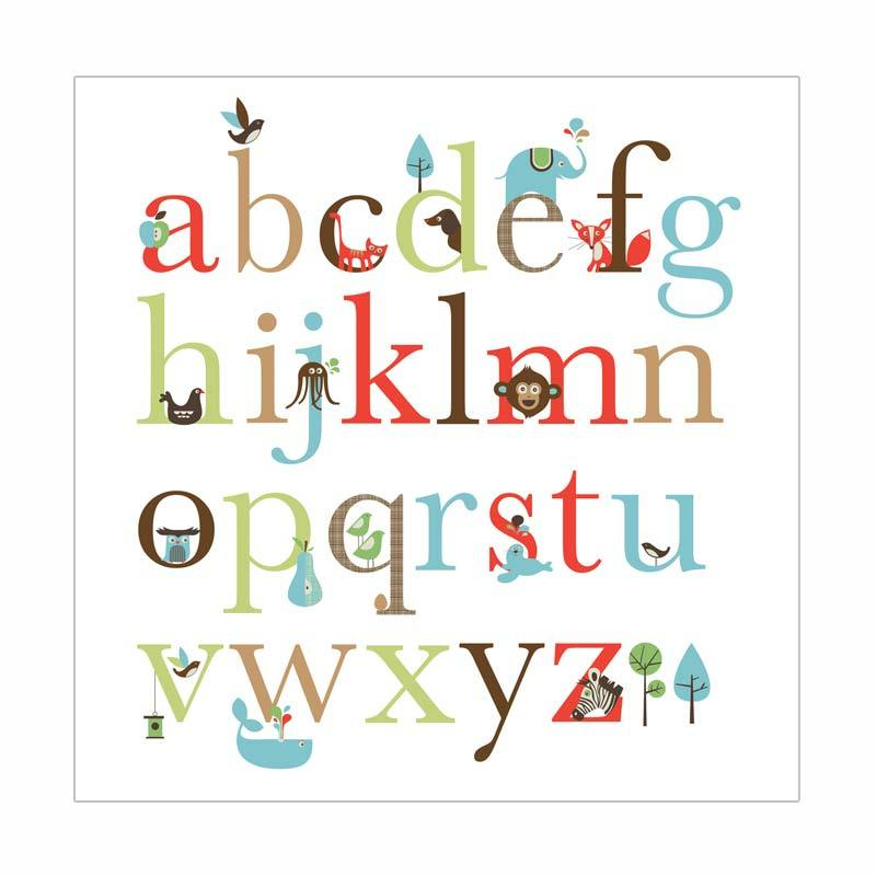 Skip Hop Wall Decals Alphabet