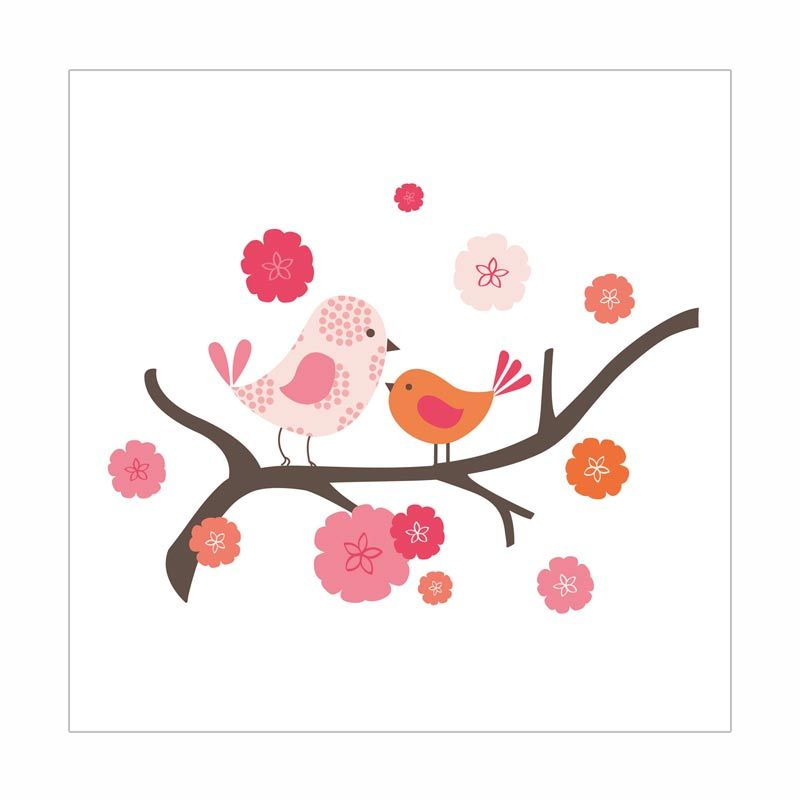 Skip Hop Wall Decals Spring Time Birdie