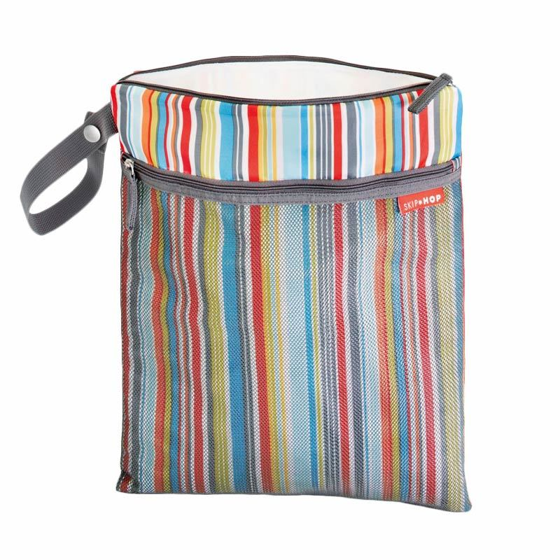 Skip Hop Wet Grab & Go Wet or Dry Bag Metro Stripe
