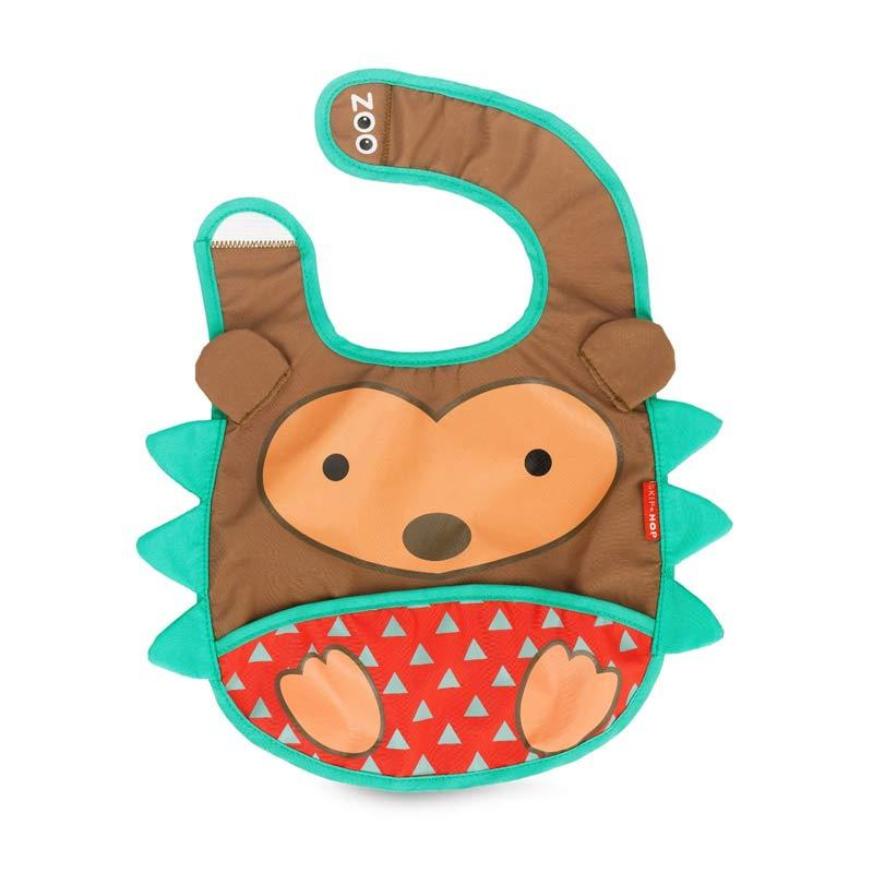 Skip Hop Zoo Bib Hedgehog