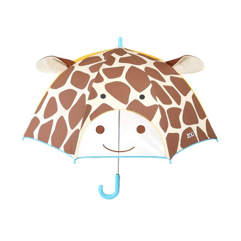 Skip Hop Zoo Giraffe Brown Payung Anak