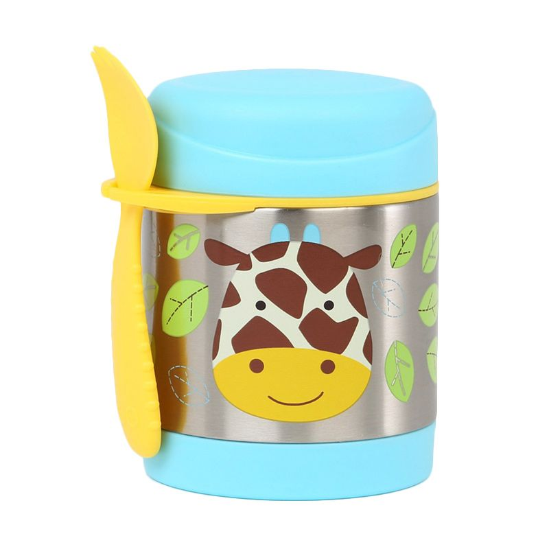 Skip Hop Zoo insulated Food Jar Giraffe Green Termos Makan