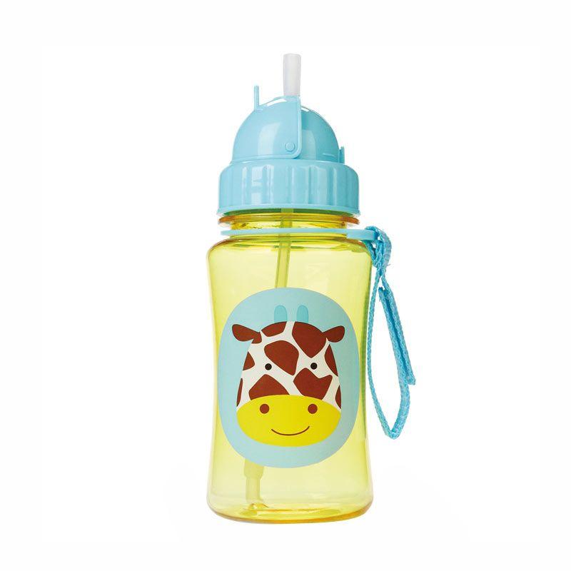 Skip Hop Zoo Straw Bottle Giraffe Botol Minum Anak