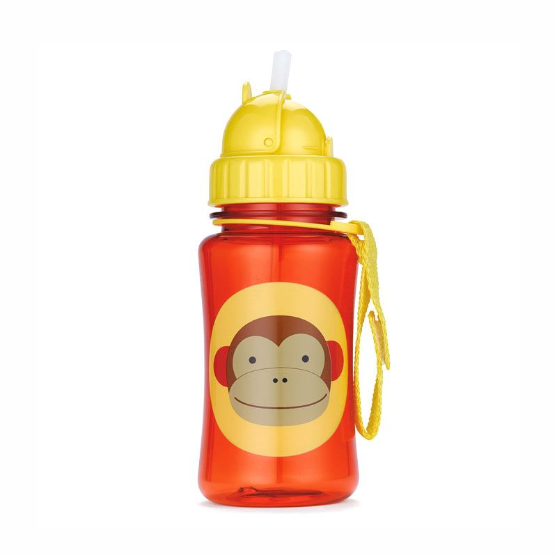 Skip Hop Zoo Straw Bottle Monkey Botol Minum Anak
