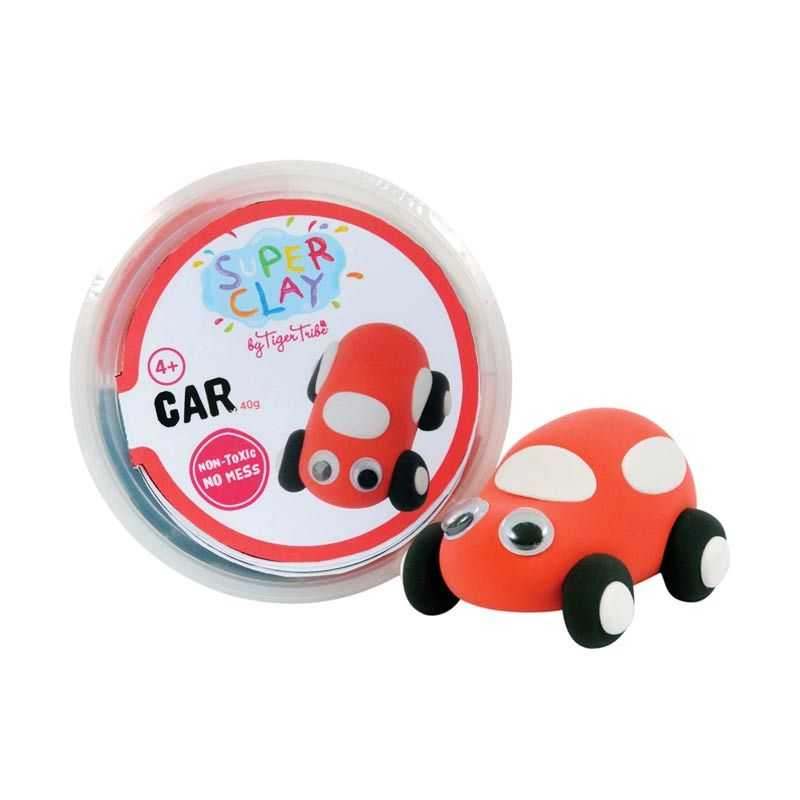 Tiger Tribe Super Clay Mini Tub Boys Car