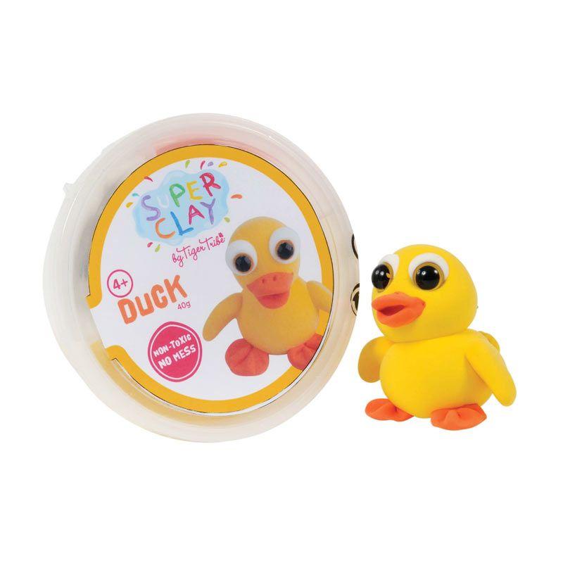 Tiger Tribe Super Clay Mini Tub Girls Duck