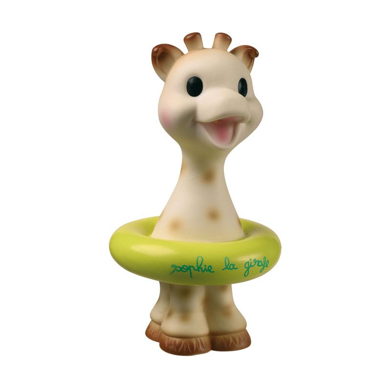 Vulli Giraffe Bath Toys Yellow