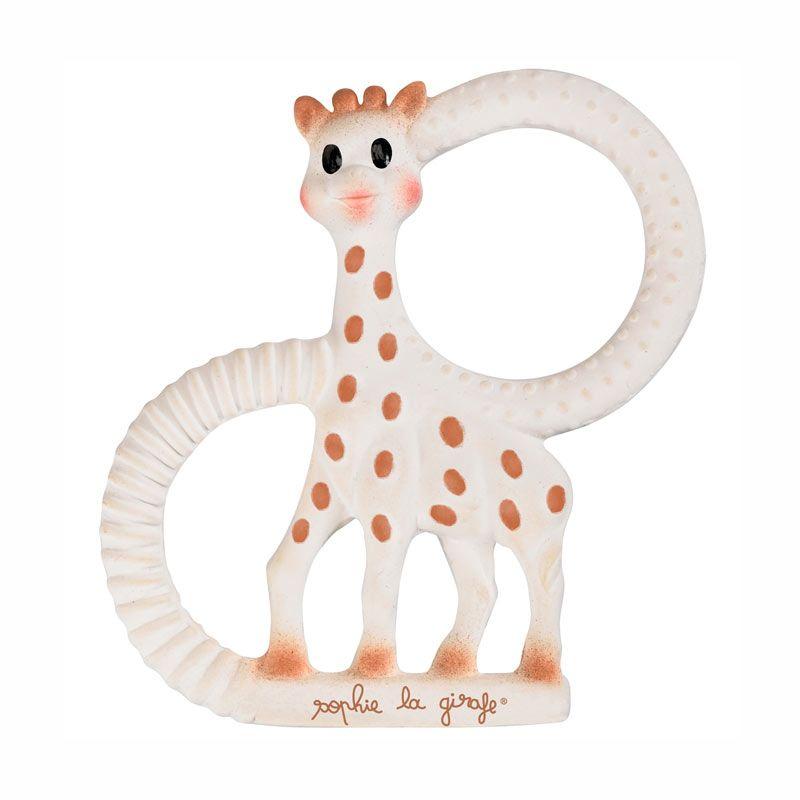 Vulli Sophie the Giraffe So'Pure Teething Ring - Soft Mainan Teether
