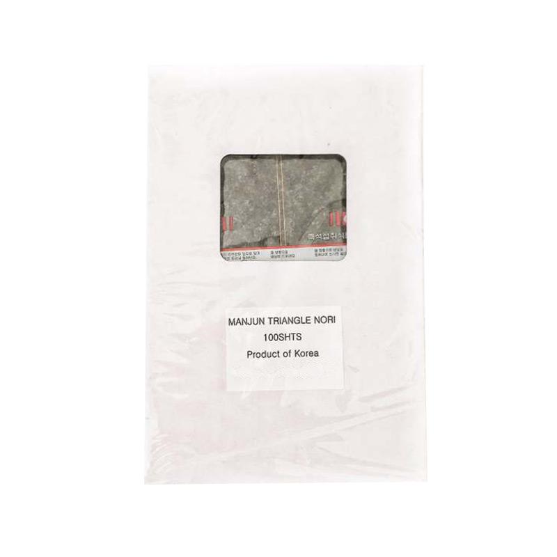 harga Manjun Seaweed Triangle Onigiri Sushi Nori Rumput laut Makanan Instan [100 lembar] Blibli.com