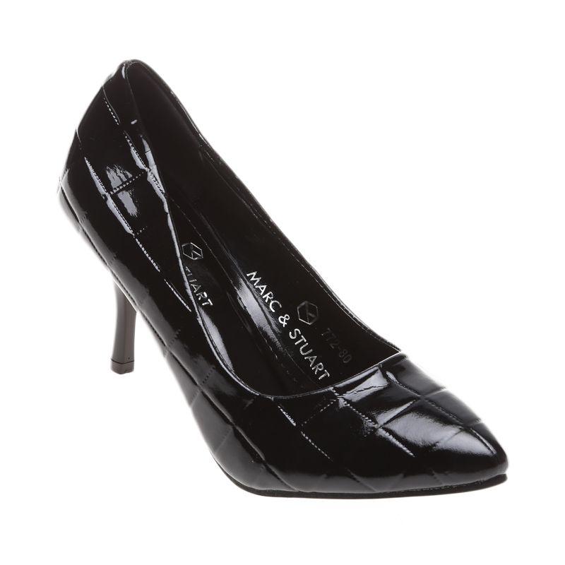 Marc & Stuart F2-MSHK-SX-A11 Black Sepatu Wanita