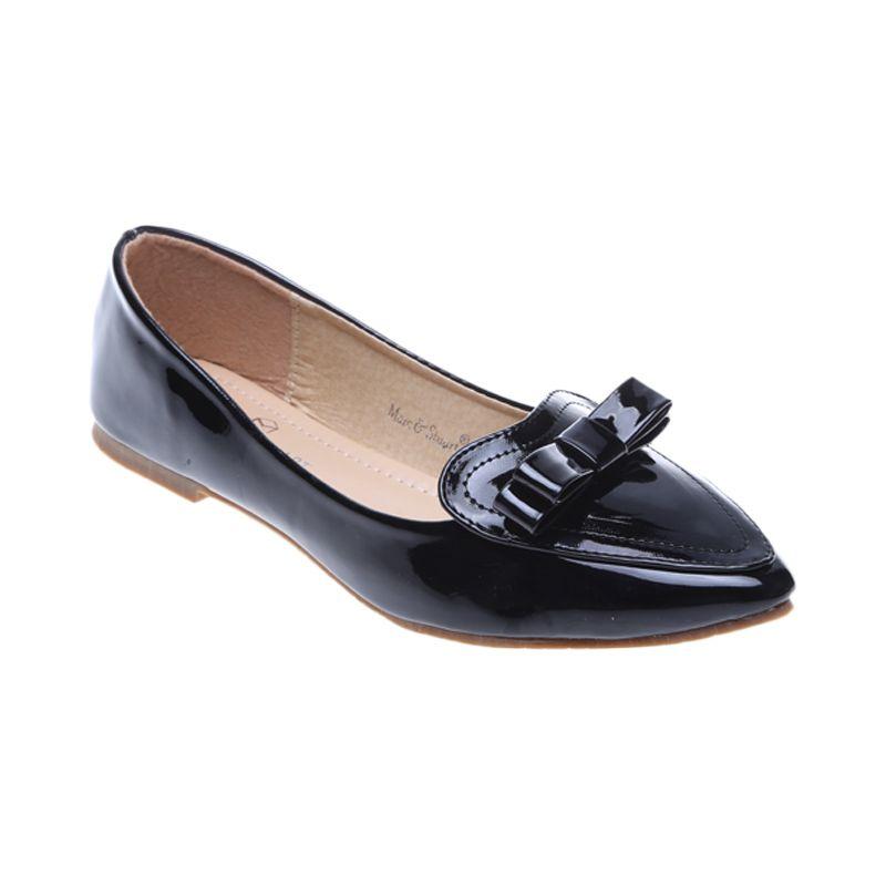 Marc & Stuart F2-MSHK-SX-A13 Black Sepatu Wanita