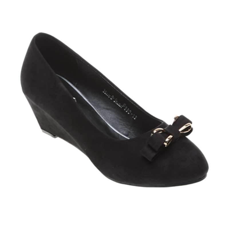 Marc & Stuart F8-MSHK-SX-C5 Black Sepatu Wanita
