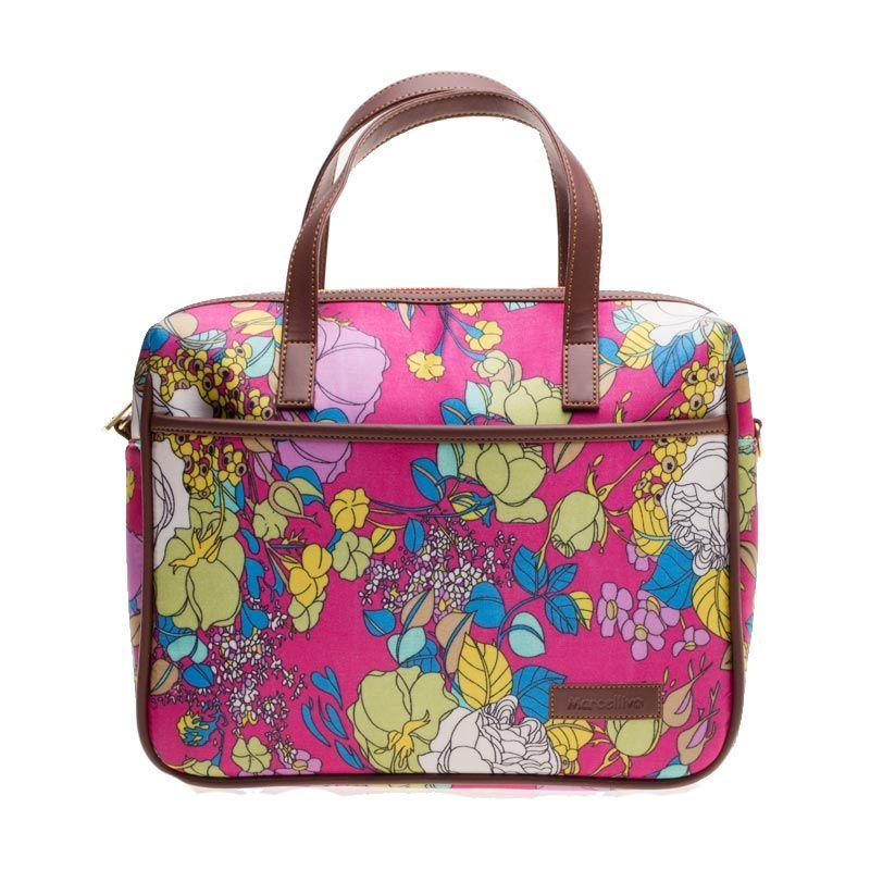 Marcellivo B102 Spring Flower Pink Tas Selempang