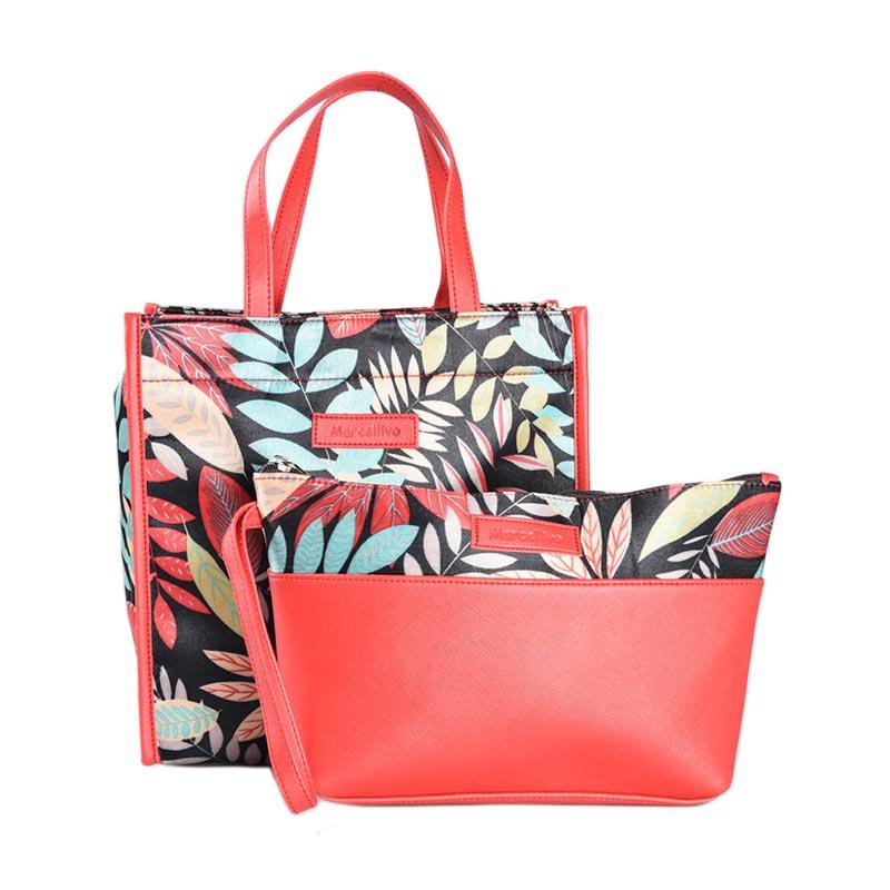 harga Marcellivo Couple Batik K 110 Bag - Red Blibli.com