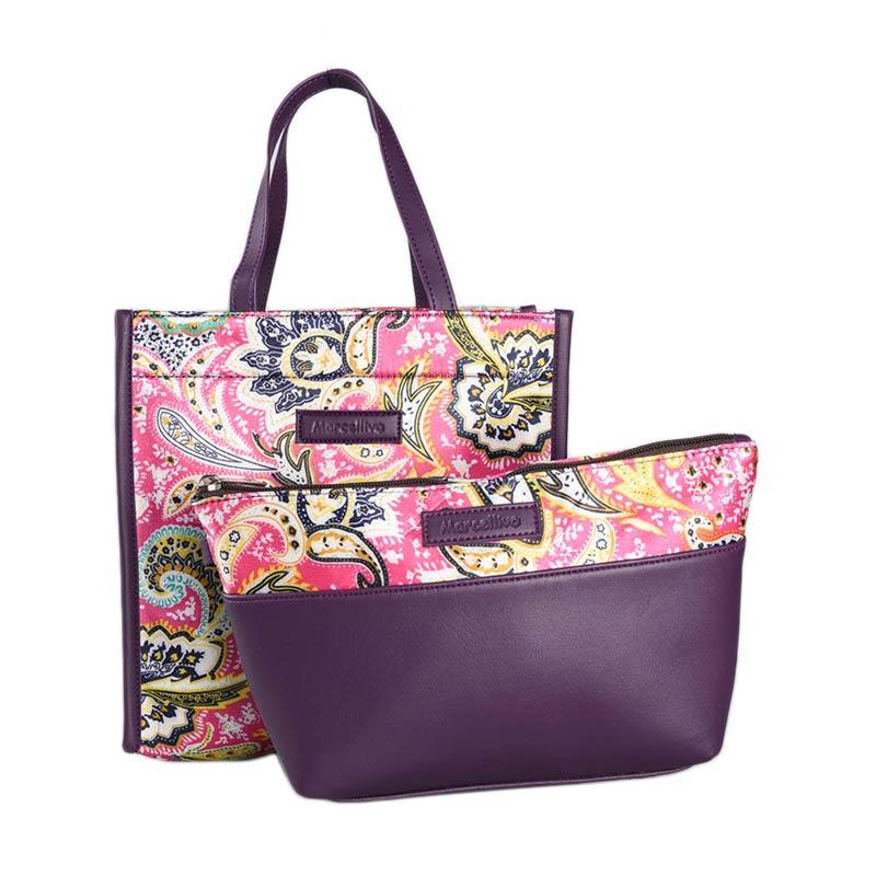 harga Marcellivo Couple Batik K 111 Bag - Purple Blibli.com