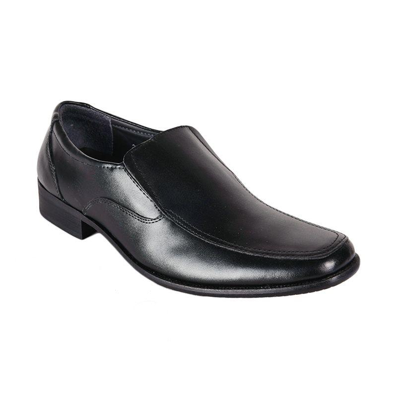 Marco Cuomo Formal 235-8 Black Sepatu Pria